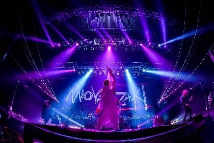 ミオヤマザキ 2019年集大成のZeppツアー、土屋アンナをゲストに迎えた最終公演オフィシャルレポート