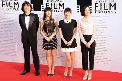 東京国際映画祭レッドカーペットにPerfume、ぱるる、ELT、宮野真守、GACKTら登場
