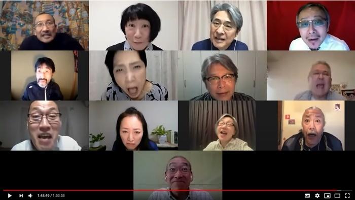 2020リモート読み合わせ版『12人のおかしな大阪人』より。