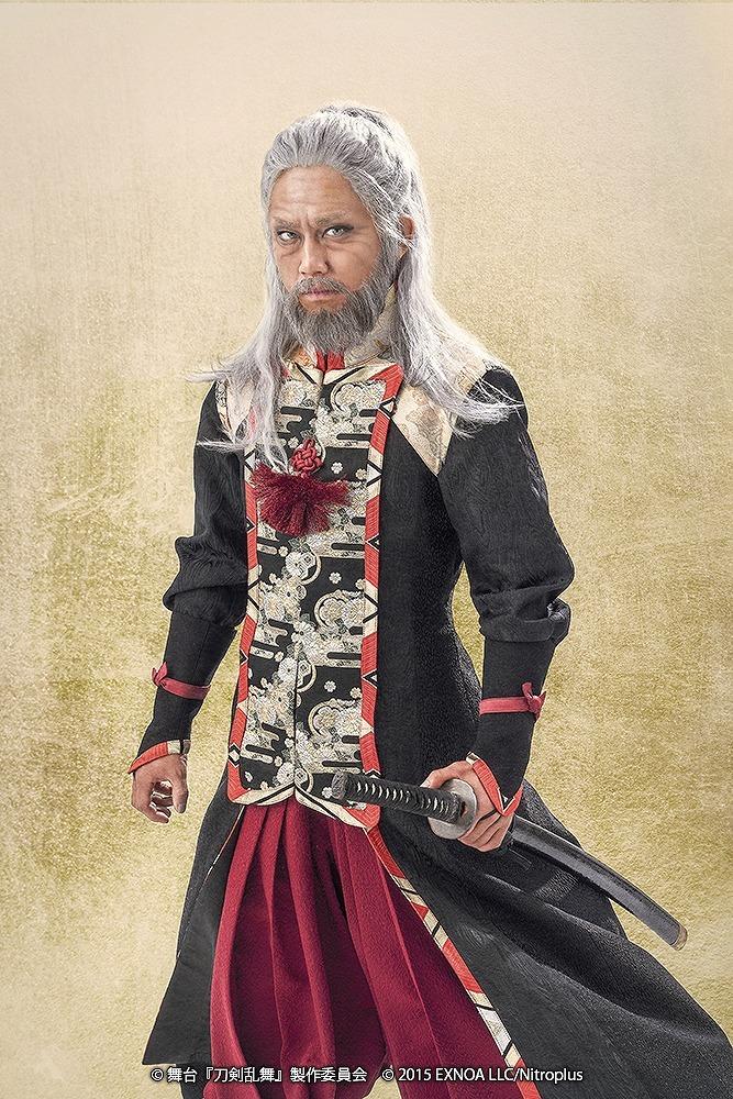 弥助:日南田顕久 (C)舞台『刀剣乱舞』製作委員会  (C)2015 EXNOA LLC/Nitroplus