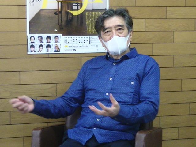 オフィスコットーネプロデュース『母 MATKA』父を演じる大谷亮介。