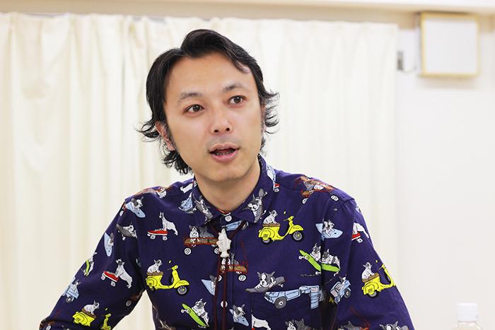石橋徹郎 (撮影:いまいこういち)