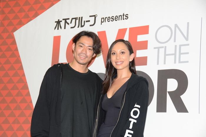 『LOVE ON THE FLOOR』で主演を務める高橋大輔とシェリル・バーク(左から)