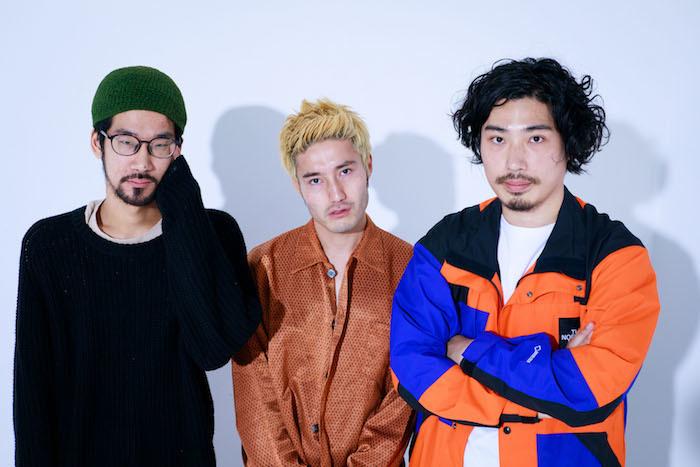 左からCoff、飯田芳、島村和秀 撮影/玉井美世子