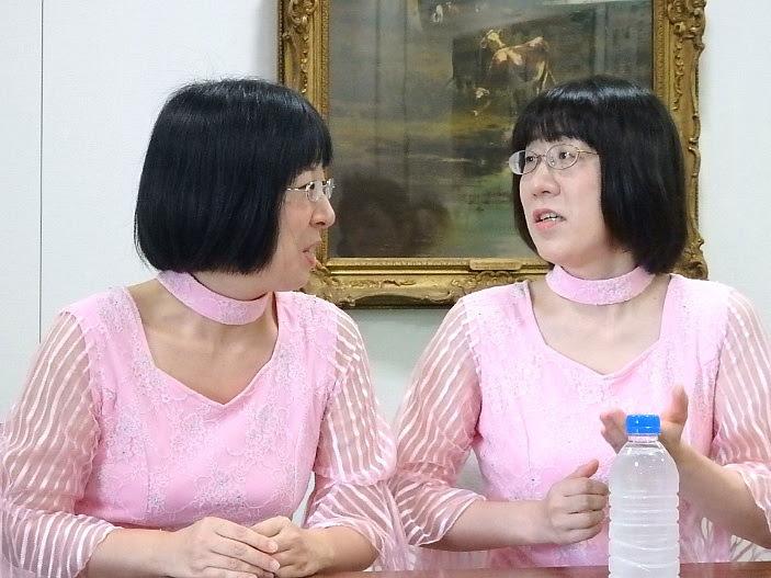 阿佐ヶ谷姉妹単独ライブ1『産声~うぶごえ~』取材会より