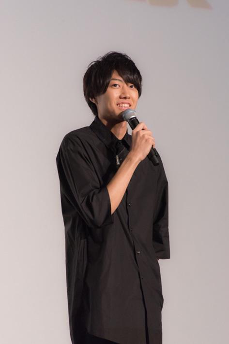 月島 蛍役の小坂涼太郎