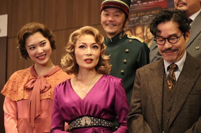 ミュージカルにはたくさん出演されてきたマルシアさん。会話劇は初だったんですね!意外です。