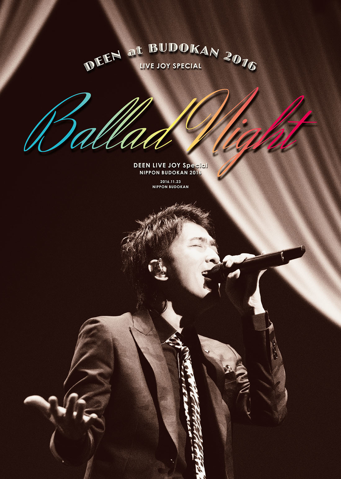 DEEN『DEEN at 武道館 2016 LIVE JOY SPECIAL ~Ballad Night~』Blu-ray