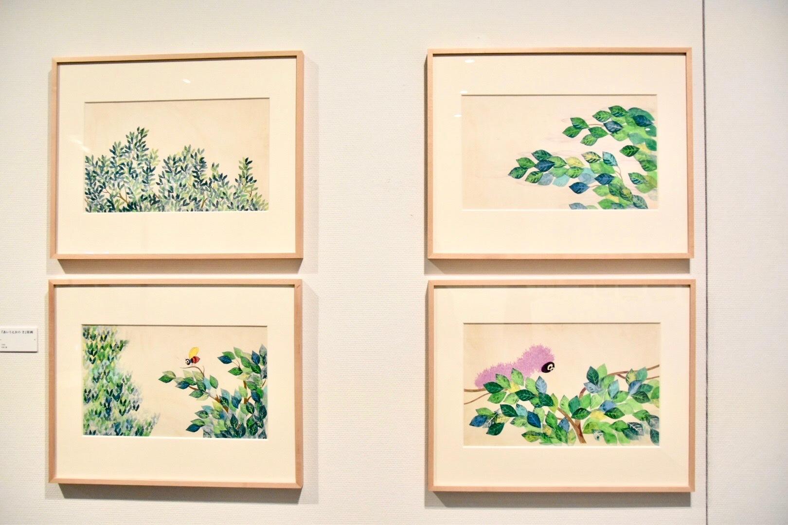 『あいうえの き』原画 1968年 アニー・レオーニ氏所蔵