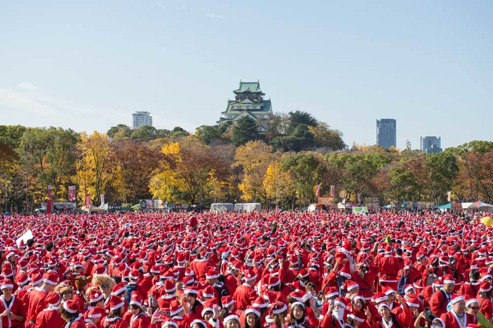 Osaka Great Santa Run 2015