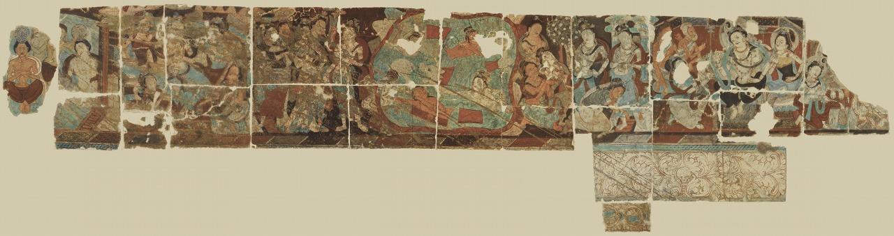 クローン文化財:復元したキジル石窟航海者窟