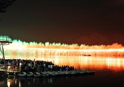 """全長500メートルの大ナイアガラ&超特大""""尺五寸玉""""が打ち上がる!『さがみ湖湖上祭花火大会』の魅力に迫る"""