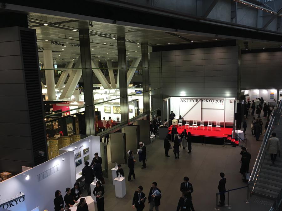 アートフェア東京2018 会場風景