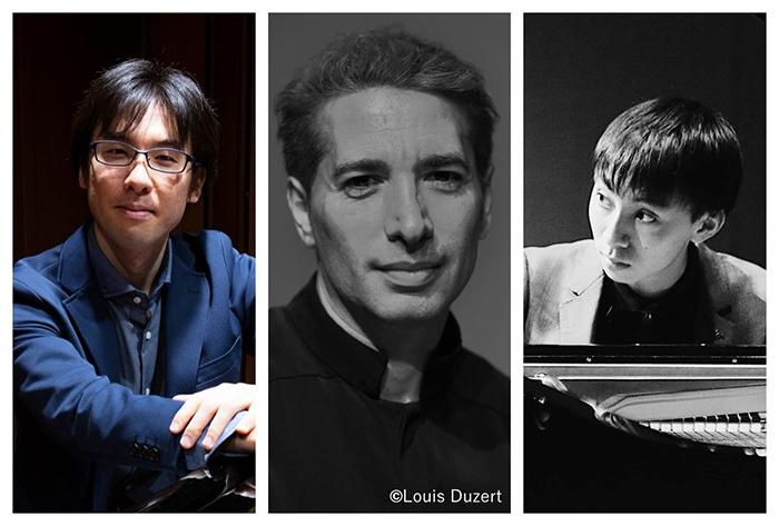 (左から)増田達斗、イスラエル・ガルバン、片山柊 写真提供:Dance Base Yokohama