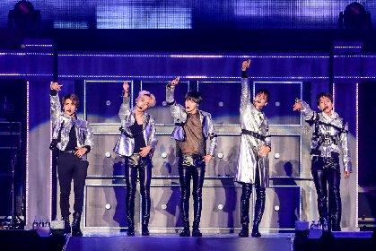 SHINee、19,000人を魅了した全26曲3時間強のパフォーマンス 『SHINee WORLD 2017~FIVE~』大阪城ホール公演