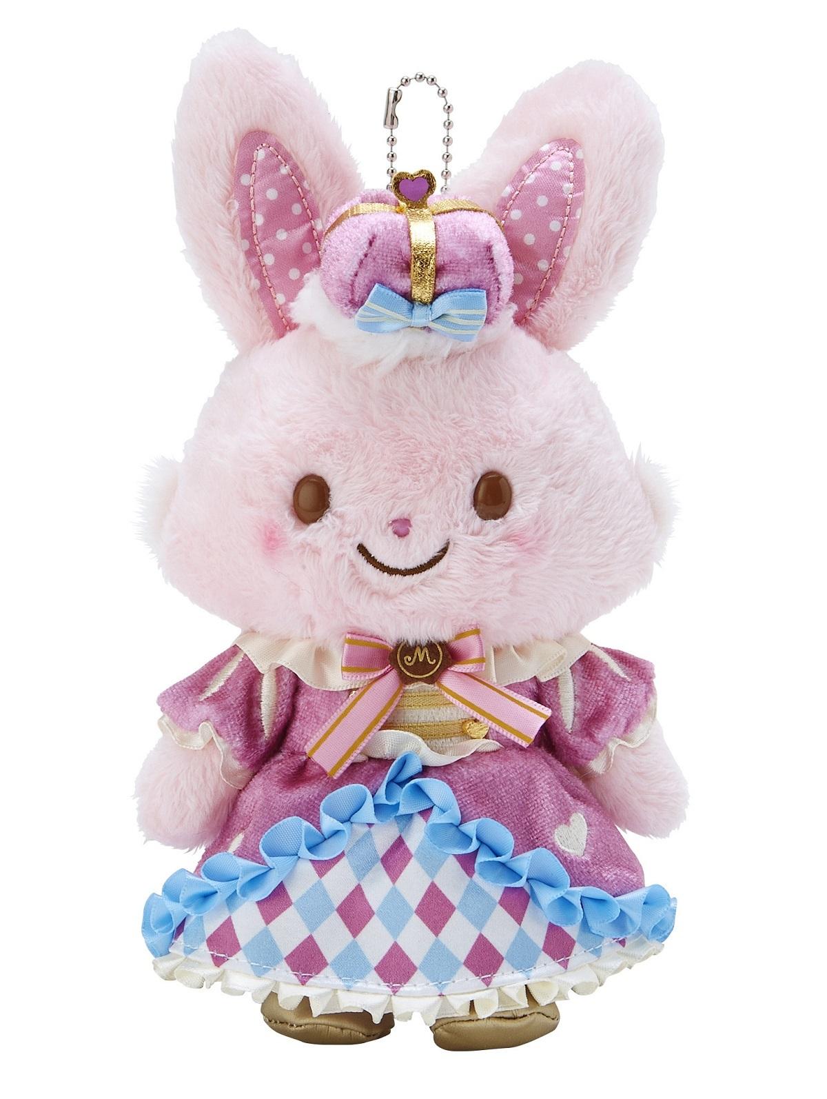 ウィッシュミーメル 10th Anniversary マスコットホルダー(ピンク) 2,200円 ※サンリオオンラインショップを除く