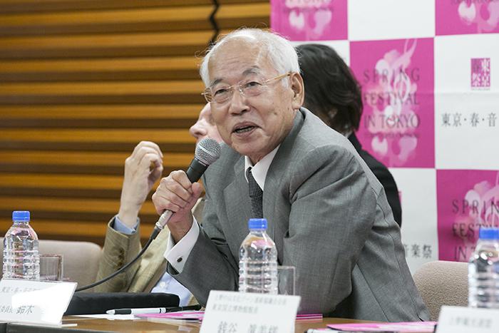 鈴木幸一音楽祭実行委員長