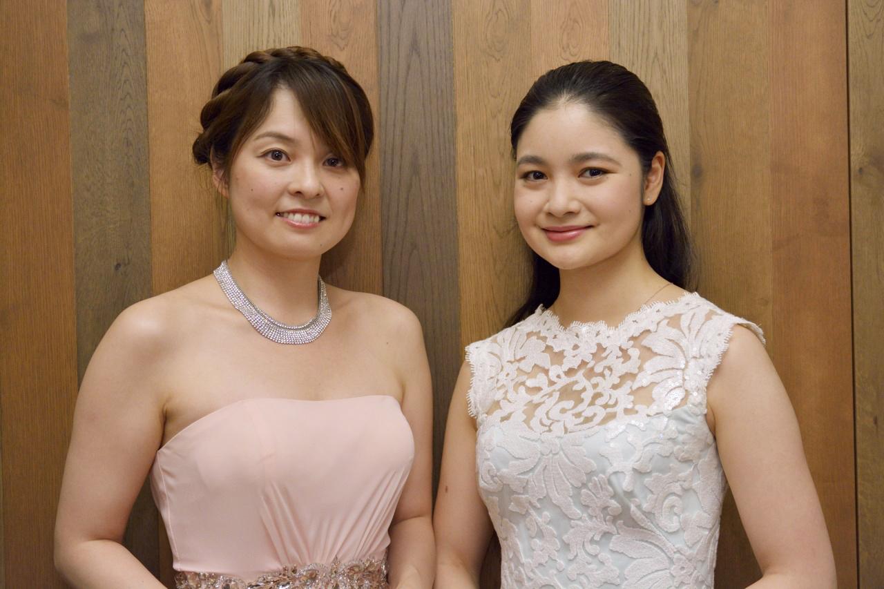 岩崎洵奈(ピアノ)、鈴木舞(ヴァイオリン)