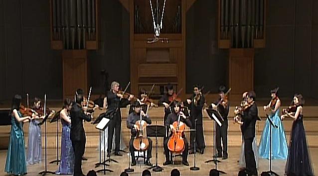 滅多に聴けない、ヴィオラの大合奏によるバッハ