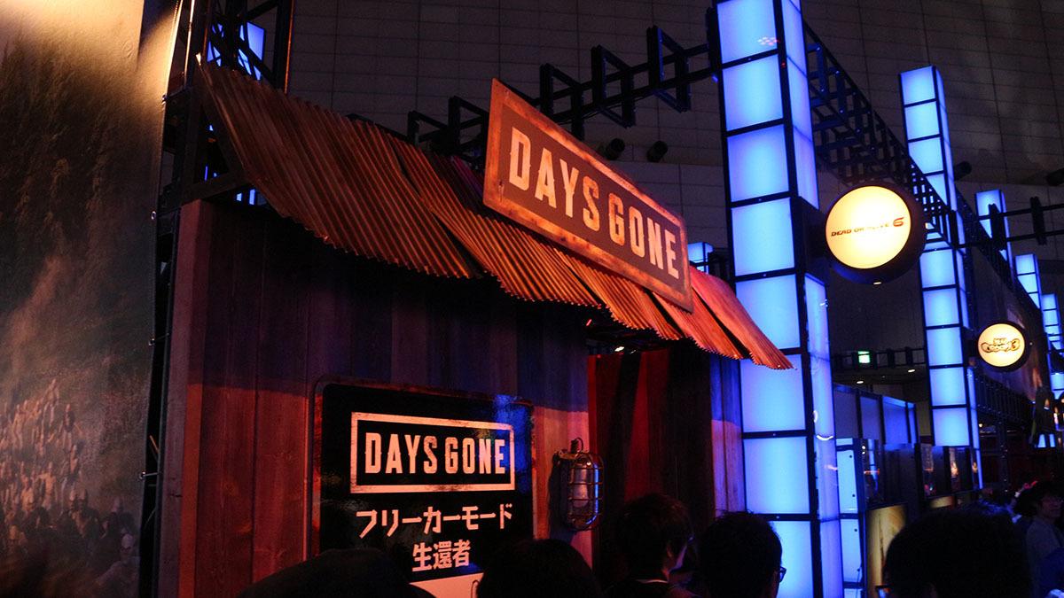 『Days Gone』の舞台はアメリカの田舎町。そのイメージの生還者出口/撮影:梅田勝司