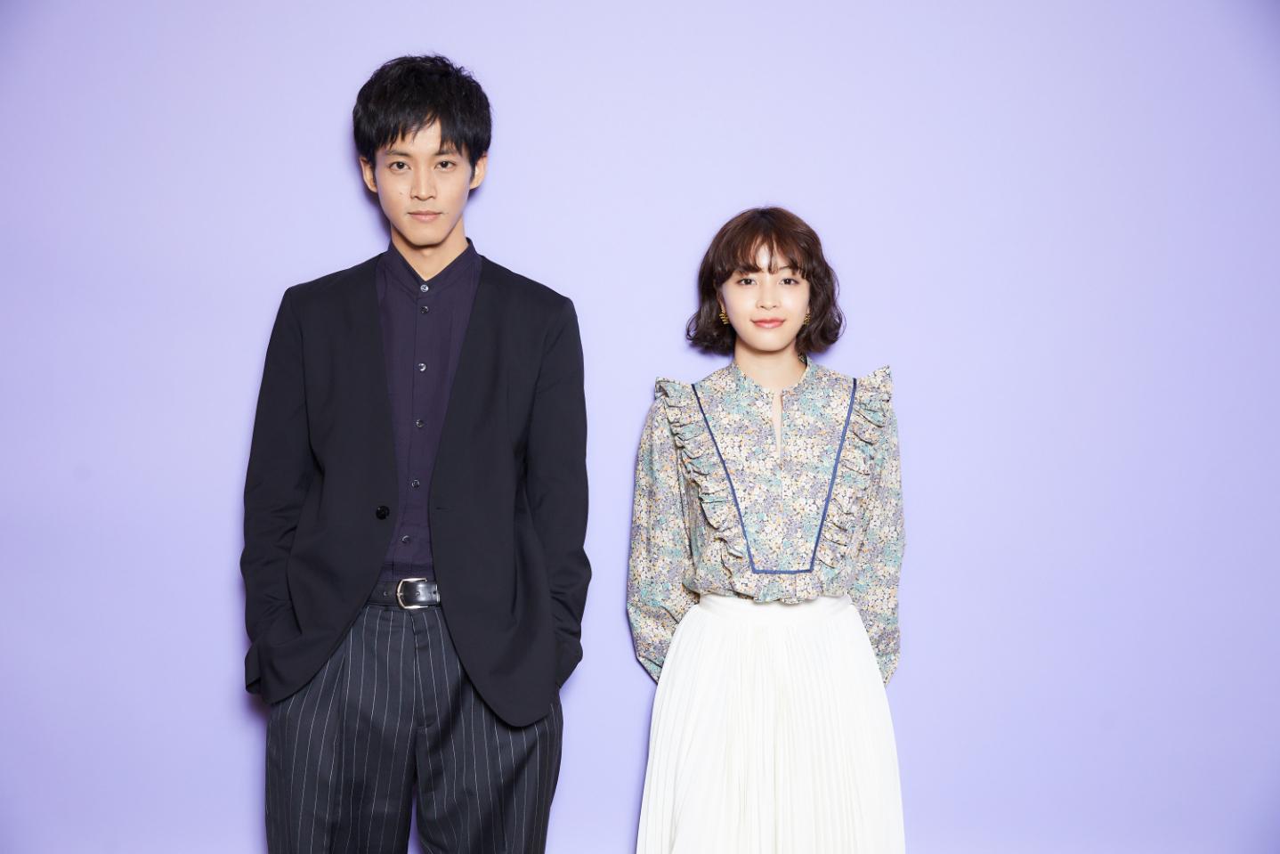 左から、松坂桃李、広瀬すず 撮影=iwa