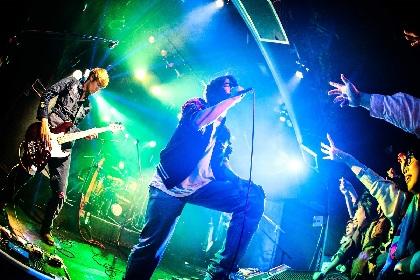 パノラマパナマタウン、全14公演『HEAT ADDICTION TOUR』初日を、バンドの始まりの場所にてスタート