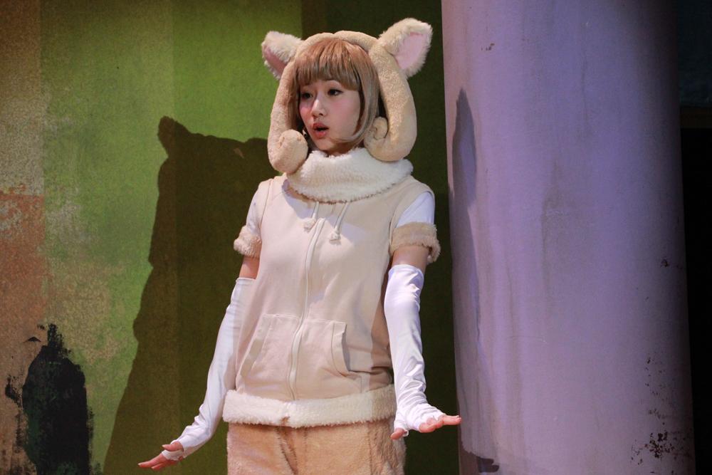 ヒツジ役の西川美咲。彼女が守っているものとは?