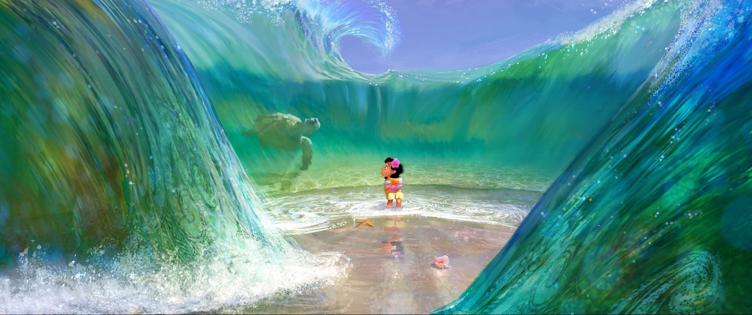 《モアナと伝説の海》より 2016年 (C)Disney Enterprises, Inc.