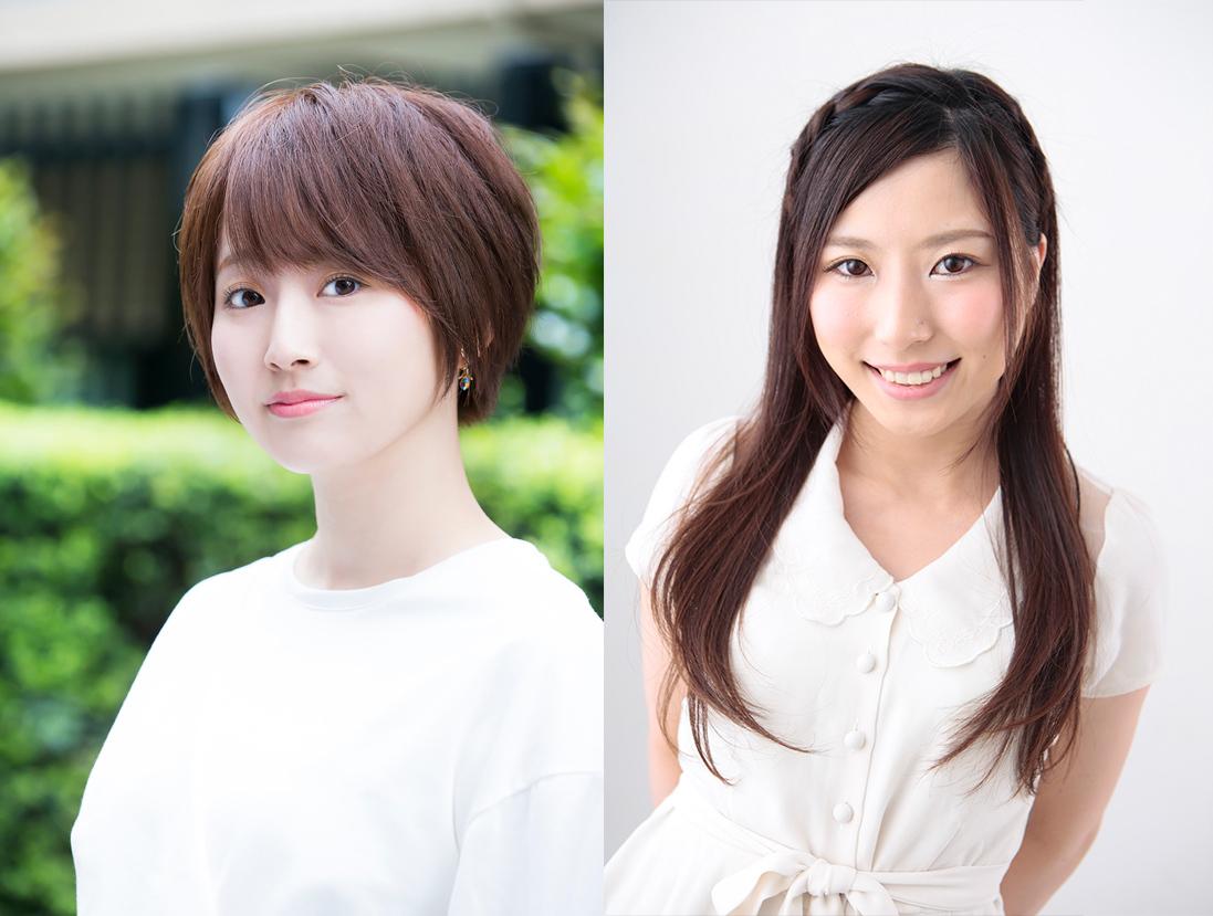 左から花守ゆみり、内田愛美