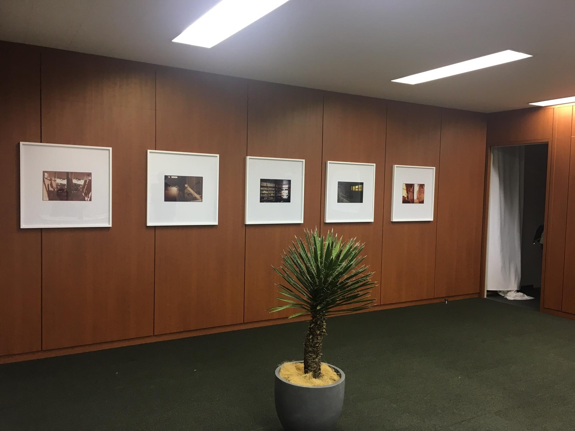 Taka Ishii Gallery Luke Fowlerの部屋