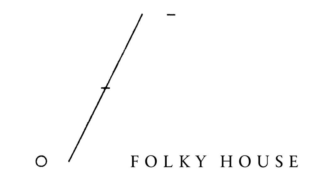 「FOLKY HOUSE」ロゴ