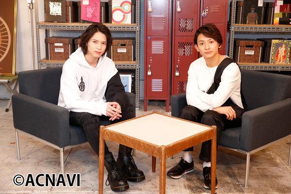 左から北村諒、橋本祥平。 (c)ACNAVI