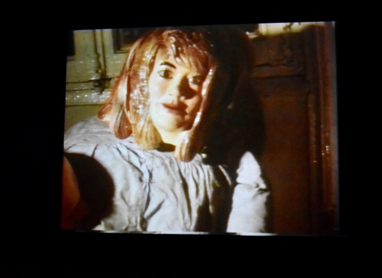 《なめる男》 1969年 「クリスチャン・ボルタンスキー −Lifetime」展 2019年 国立新美術館展示風景