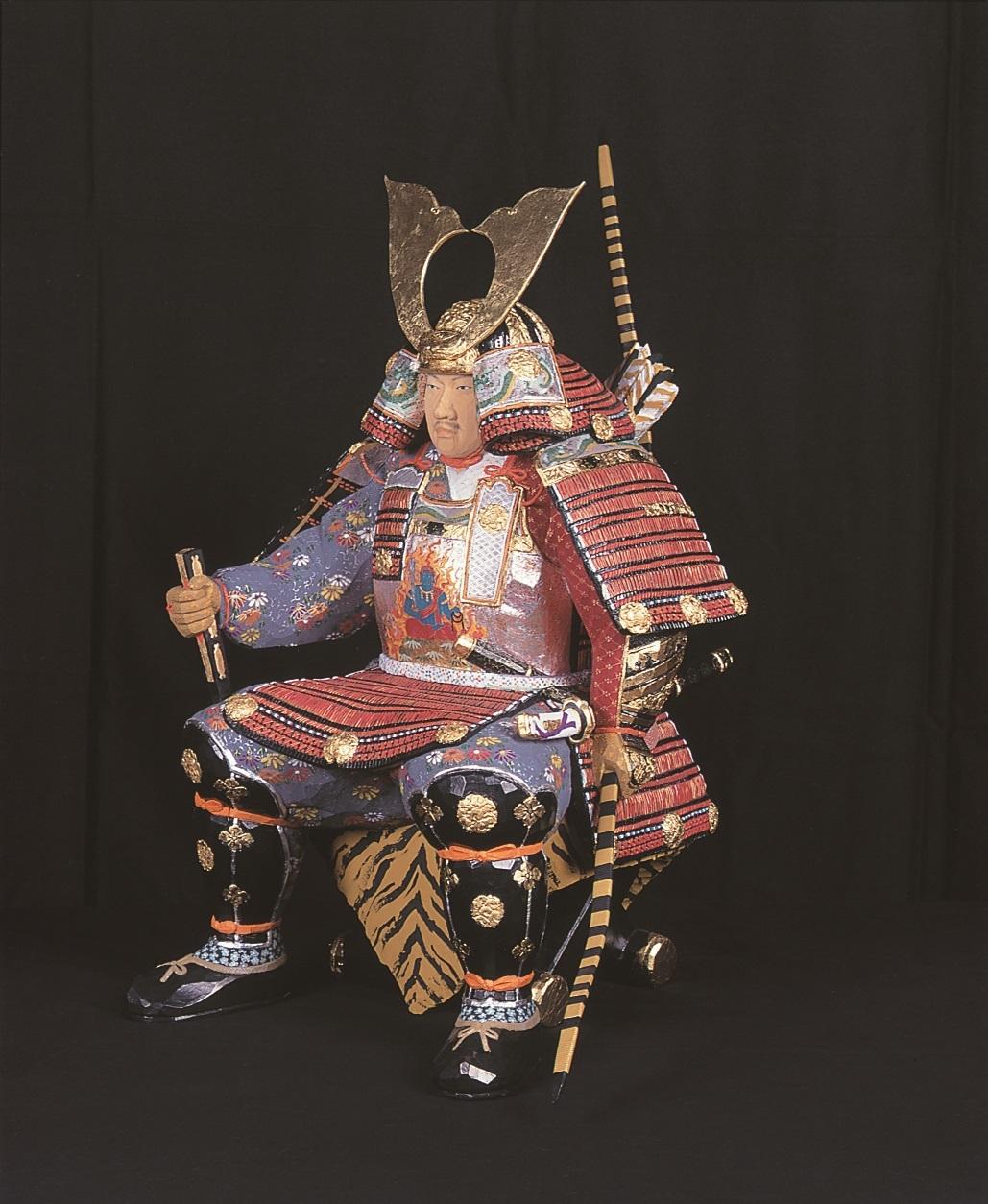 荒木義人「武者」 平成8(1996)年 個人蔵