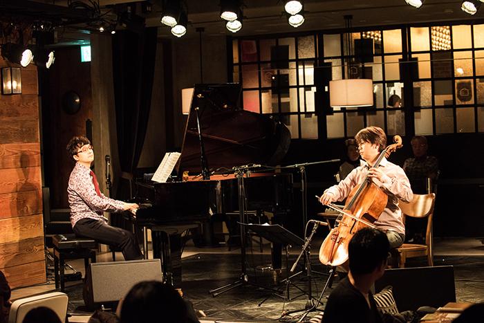 「サンデー・ブランチ・クラシック」より 光田健一(ピアノ) 柏木広樹(チェロ)  撮影=原地達浩