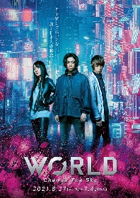 校條拳太朗、杉江大志、佐々木優佳里(AKB48)が出演『WORLD ~Change The Sky~』上演決定