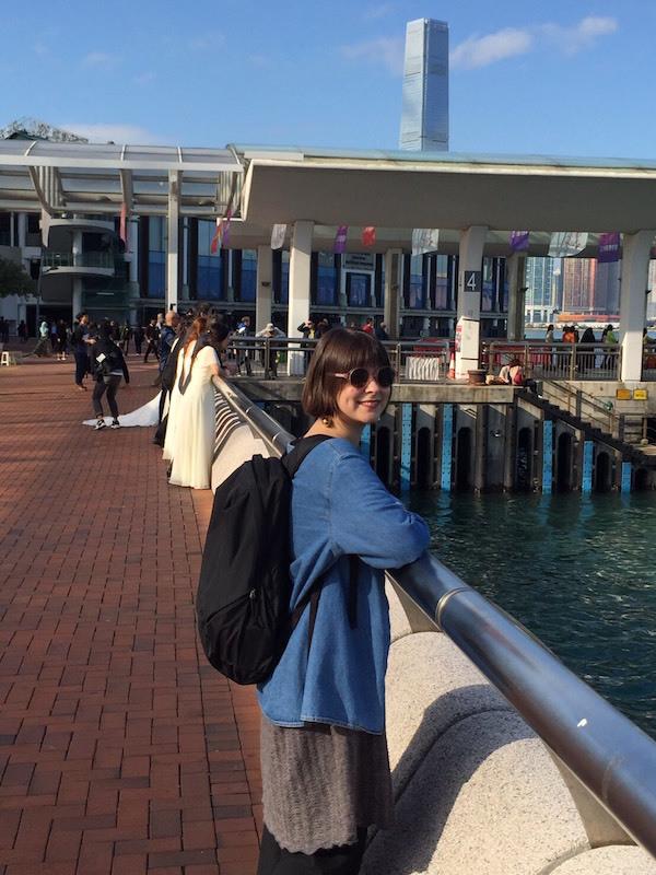 入場口は港にあります ©奥浜レイラ