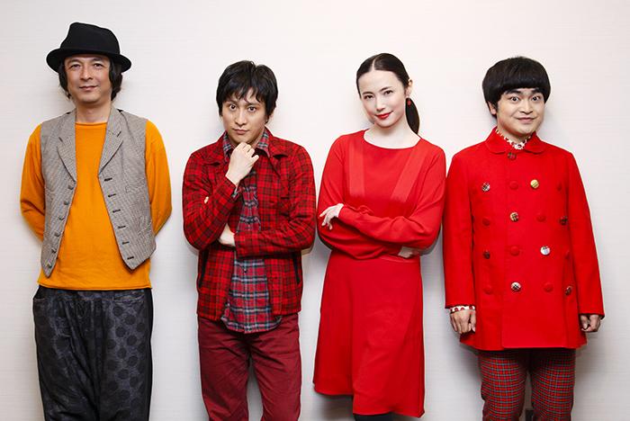 (左から)河原雅彦、成河、ミムラ、加藤諒 (撮影:中田智章)