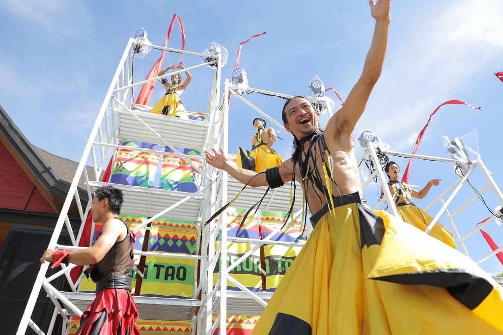 『夏フェスと野外劇場TAOの丘LIVE』より