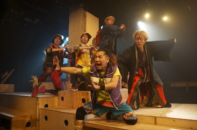 木ノ下歌舞伎『黒塚』舞台写真 ⓒ木ノ下歌舞伎公式サイト