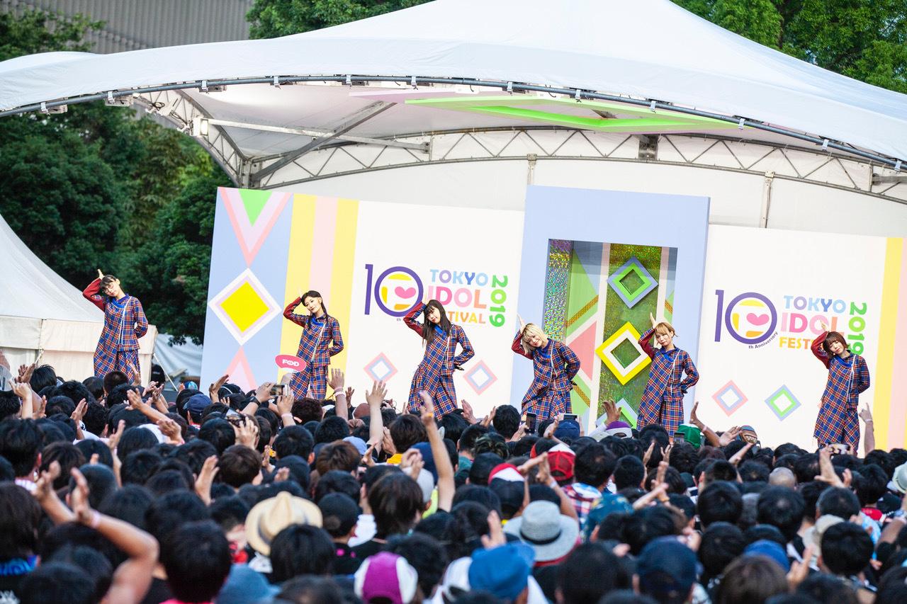 BiSH『TOKYO IDOL FESTIVAL 2019』にて