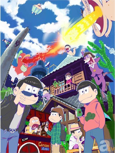 アニメイトカフェ池袋3号店のコラボに『おそ松さん』が登場!