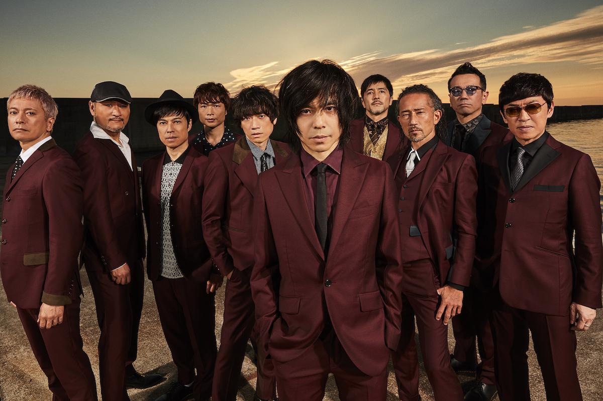 東京スカパラダイスオーケストラ「明日以外すべて燃やせ feat.宮本浩次」アーティスト写真
