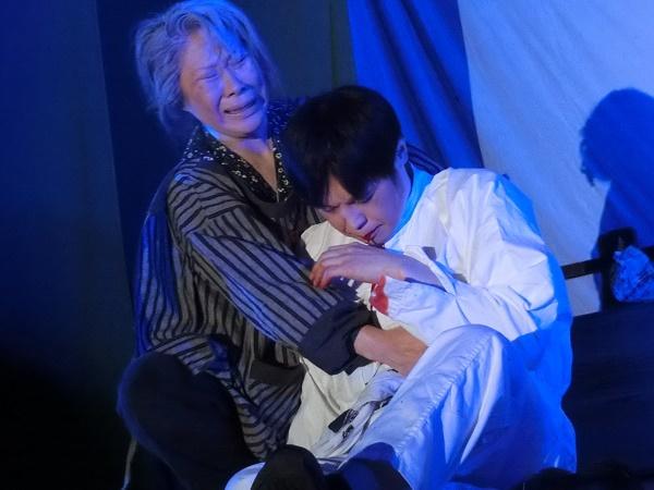 左・島崎寿恵座長 右・市村新さん(2016/3/12)