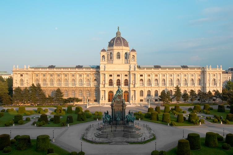 ウィーン美術史美術館外観