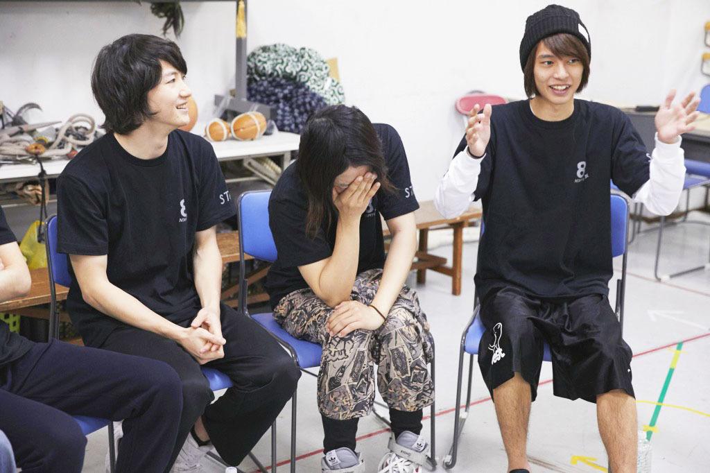 (左から)吉田、久下、栗原