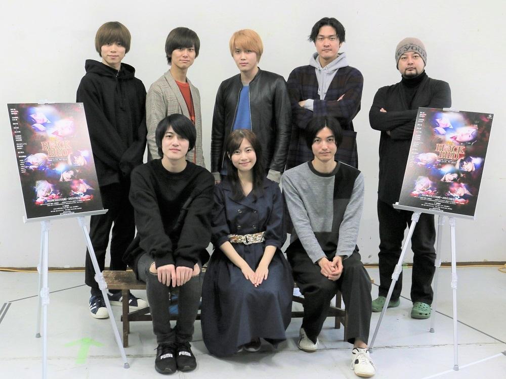 (左上段から)松村優、朝倉ふゆな、神田聖司(左下段から)太田将熙、正木郁、碕理人、横山真史、キムラ真