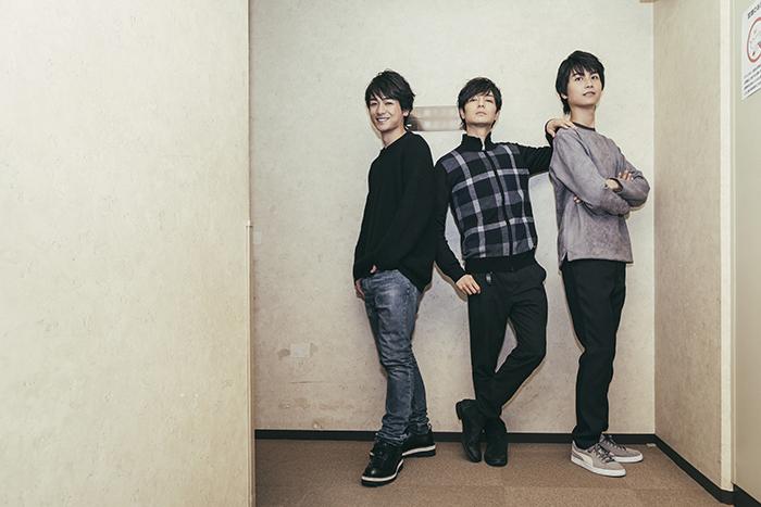 (左から)小早川俊輔、上口耕平、多和田任益