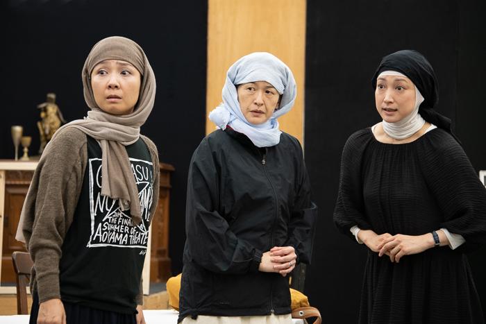 『修道女たち』稽古場より