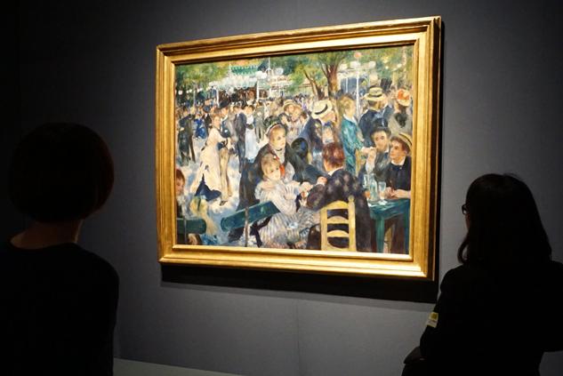 《ムーラン・ド・ラ・ギャレットの舞踏会》 1876年、油彩/カンヴァス オルセー美術館 © Musée d'Orsay, Dist. RMN-Grand Palais / Patrice Schmidt / distributed by AMF